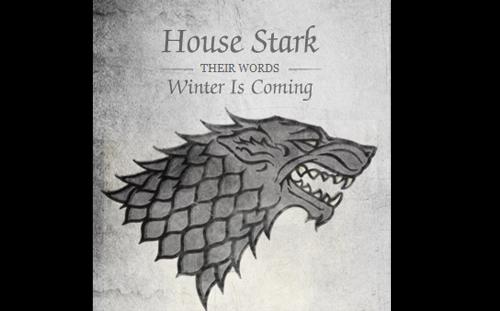 Gra o Tron herb rodu Starków