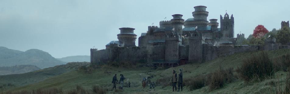 Winterfall - Gra o Tron - siedziba Starków