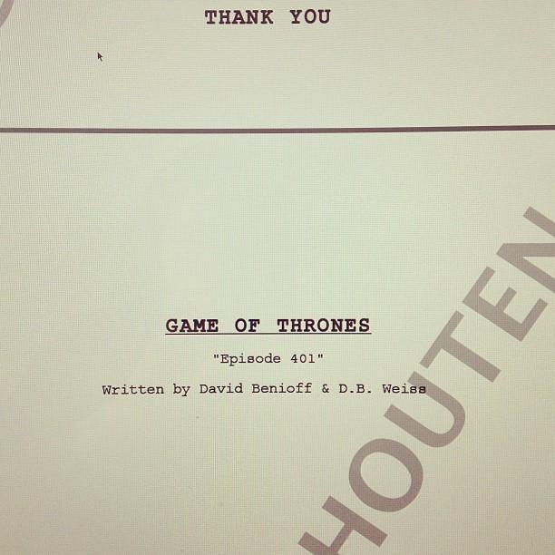 okładka pierwszego odcinka 4 sezonu