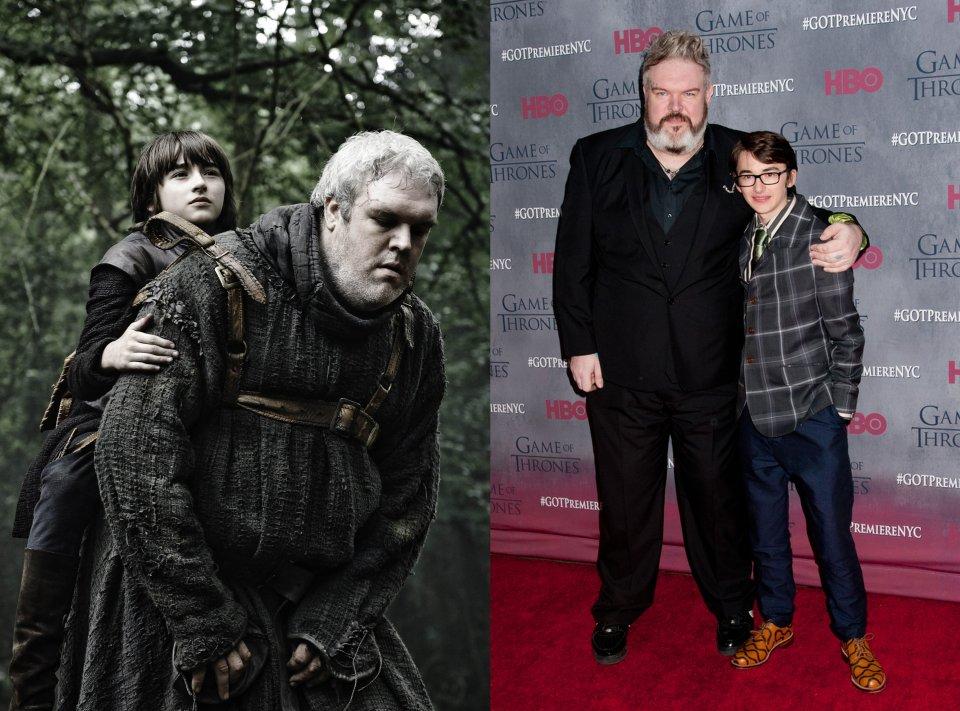 Hodor i Bran Stark