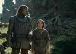 Arya Stark śmiech S04e08