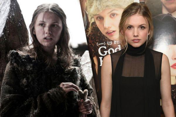 Gilly – Hannah Murray