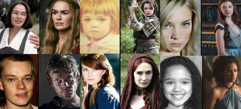 Zobacz jak wyglądali dawniej bohaterowie Gry o Tron!