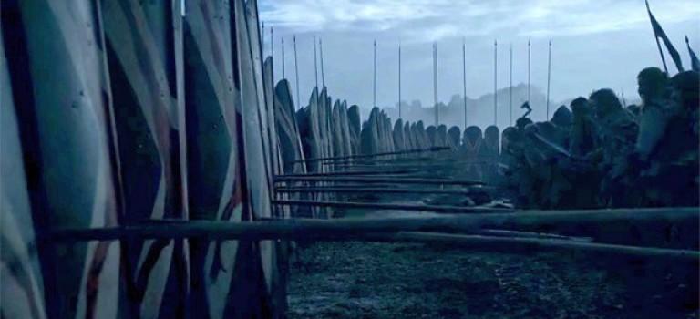 Wielka bitwa w szóstej serii